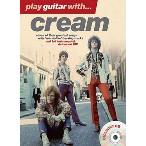 WISE PUBLICATIONS PLAY GUITAR WITH CREAM + CD