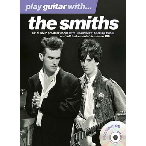 WISE PUBLICATIONS SMITHS - PLAY GUITAR WITH + CD - GUITAR TAB