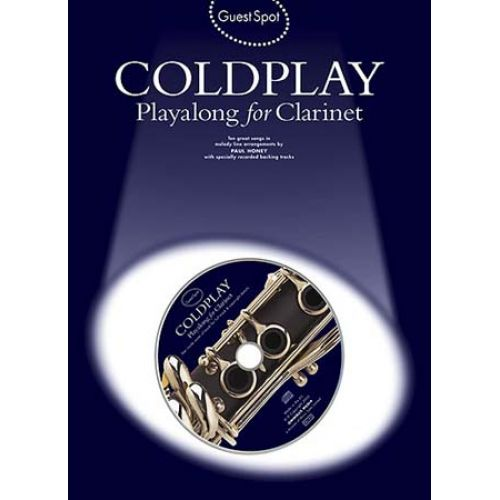 WISE PUBLICATIONS GUEST SPOT - COLDPLAY - PLAYALONG FOR CLARINET + 2CD