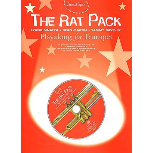 MUSIC SALES GUEST SPOT - RAT PACK + CD - TROMPETTE