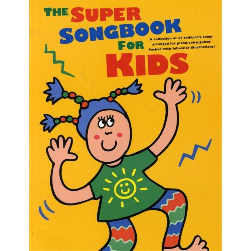 AMSCO THE SUPER SONGBOOK FOR KIDS - PVG
