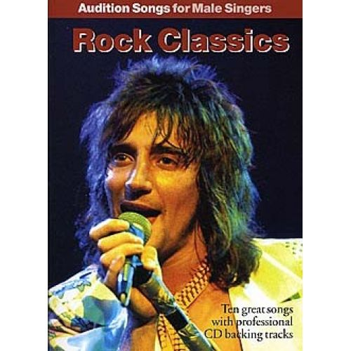 WISE PUBLICATIONS AUDITION SONGS FOR MALE SINGERS ROCK CLASSICS + CD - PVG
