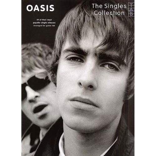 WISE PUBLICATIONS OASIS - THE SINGLES COLLECTION - GUITAR TAB