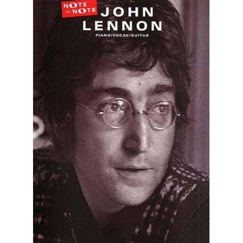 WISE PUBLICATIONS LENNON JOHN - NOTE FOR NOTE - PVG