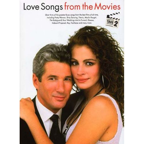 WISE PUBLICATIONS LOVE SONGS FROM THE MOVIES TAKE 2 - PVG