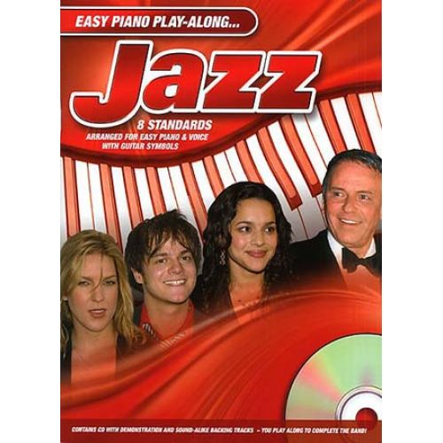 WISE PUBLICATIONS EASY PIANO PLAY ALONG - JAZZ + CD - PVG