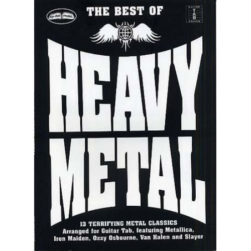 WISE PUBLICATIONS THE BEST OF HEAVY METAL - GUITAR TAB