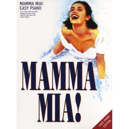 WISE PUBLICATIONS MAMMA MIA! - EASY PIANO - PVG
