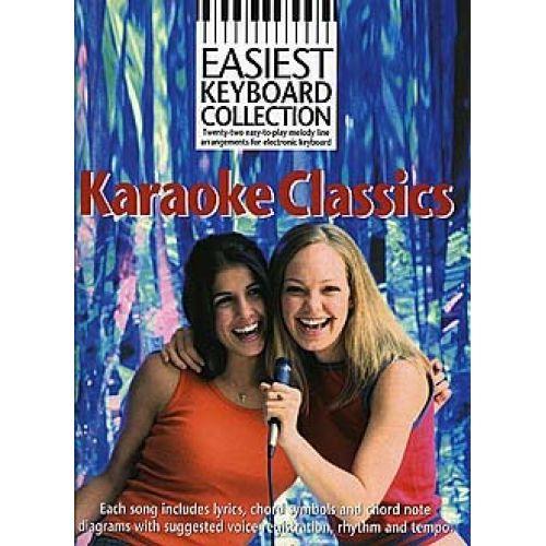 WISE PUBLICATIONS KARAOKE CLASSICS - KEYBOARD