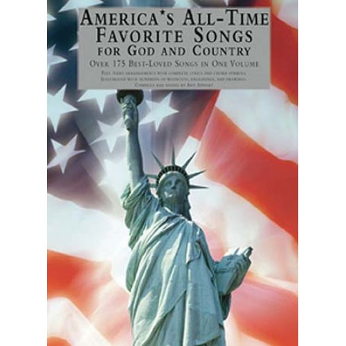 AMSCO AMERICA S ALL-TIME FAVORITE SONGS FOR GOD AND COUNTRY - PIANO SOLO
