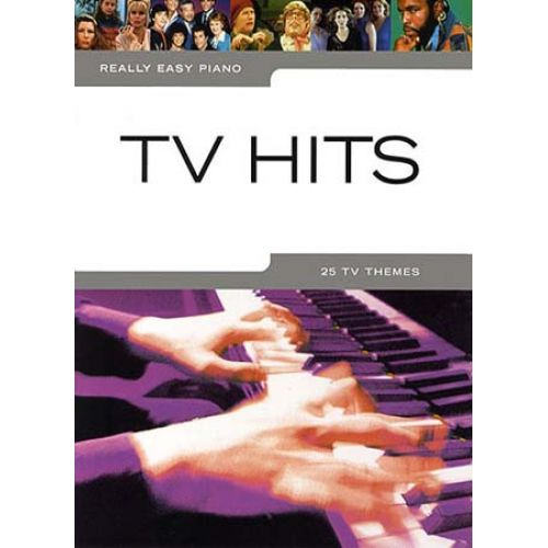 WISE PUBLICATIONS REALLY EASY PIANO - TV HITS