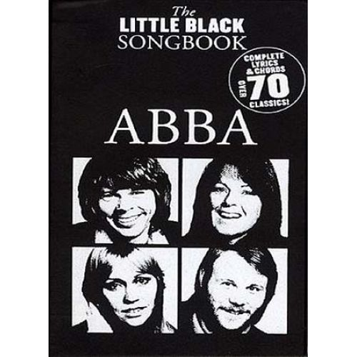 WISE PUBLICATIONS ABBA LITTLE BLACK SONGBOOK