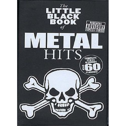 WISE PUBLICATIONS LITTLE BLACK BOOK OF METAL HITS