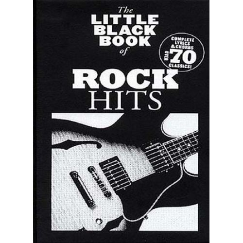 WISE PUBLICATIONS LITTLE BLACK BOOK ANTHOLOGIE OF ROCK HITS