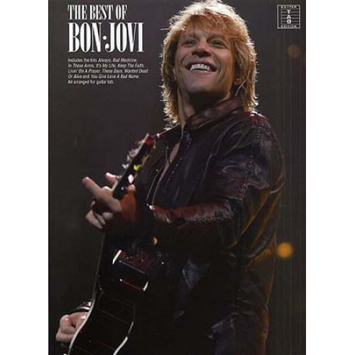 WISE PUBLICATIONS BON JOVI - BEST OF - GUITAR TAB