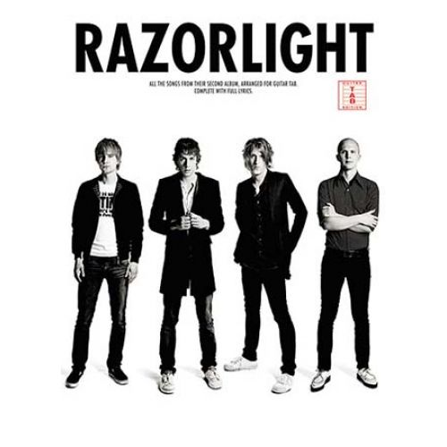 WISE PUBLICATIONS RAZORLIGHT - SECOND ALBUM - GUITAR TAB