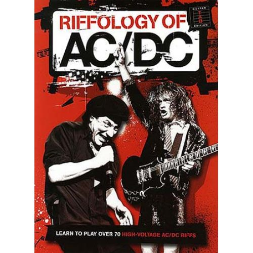 WISE PUBLICATIONS AC/DC - RIFFOLOGY - GUITAR TAB