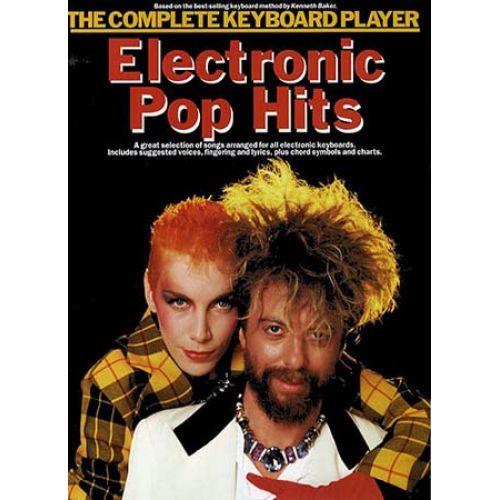 MUSIC SALES ELECTRONIC POP HITS - KEYBOARD