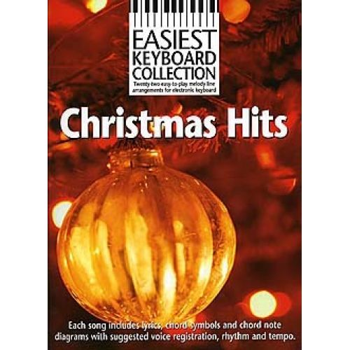 WISE PUBLICATIONS WISE - CHRISTMAS HITS - EASIEST KEYBOARD COLLECTION - KEYBOARD