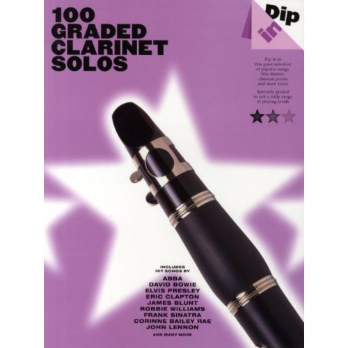 WISE PUBLICATIONS 100 GRADED CLARINET SOLOS - CLARINET