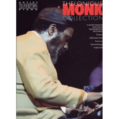 WISE PUBLICATIONS MONK THELONIOUS - COLLECTION - 12 SOLO PIANO