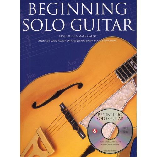AMSCO BERLE ARNIE - BEGINNING SOLO GUITAR+ CD - GUITAR