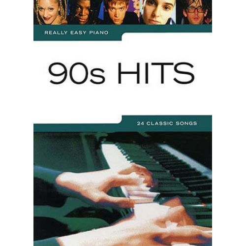 WISE PUBLICATIONS REALLY EASY PIANO - 90'S HITS