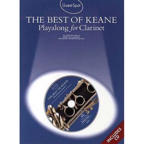 WISE PUBLICATIONS GUEST SPOT - KEANE - BEST OF + CD - CLARINETTE