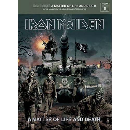 WISE PUBLICATIONS IRON MAIDEN - A MATTER OF LIFE AND DEATH - GUITAR TAB