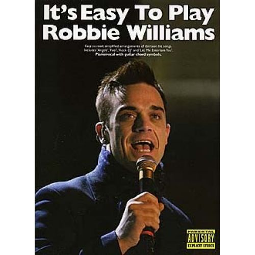 MUSIC SALES IT'S EASY TO PLAY ROBBIE WILLIAMS - PVG