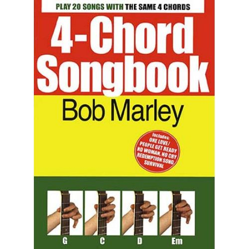WISE PUBLICATIONS MARLEY BOB - 4 CHORD SONGBOOK HITS