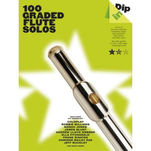 WISE PUBLICATIONS 100 GRADED FLUTE SOLOS - FLUTE
