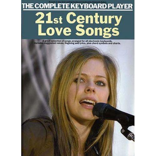 MUSIC SALES 21ST CENTURY LOVE SONGS - KEYBOARD