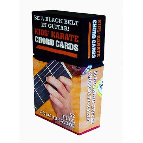 MUSIC SALES KIDS KARATE CHORD CARDS - GUITAR
