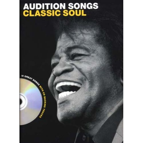 WISE PUBLICATIONS AUDITION SONGS - CLASSIC SOUL + CD - PVG