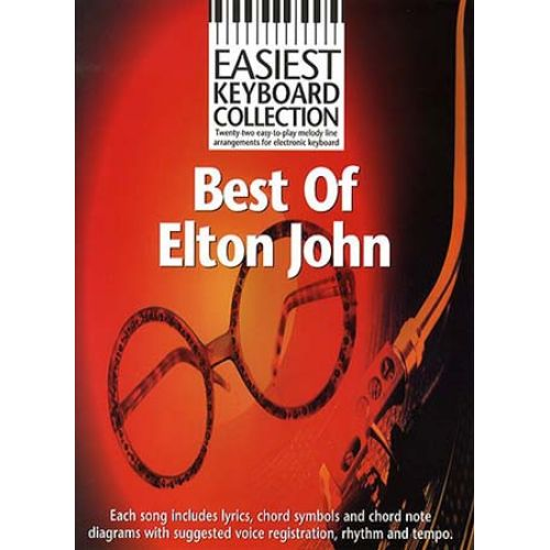 WISE PUBLICATIONS BEST OF ELTON JOHN - KEYBOARD