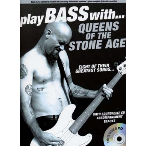 WISE PUBLICATIONS QUEENS OF THE STONE AGE PLAY BASS WITH TAB CD