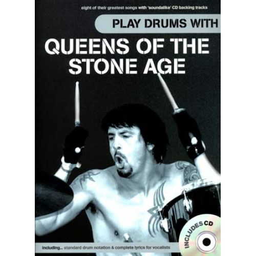 WISE PUBLICATIONS QUEENS OF THE STONE AGE PLAY DRUMS WITH CD