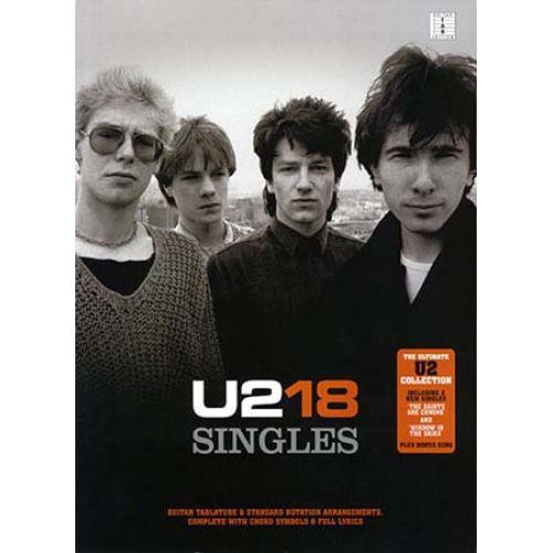 HAL LEONARD U2 - 18 SINGLES - EASY PIANO