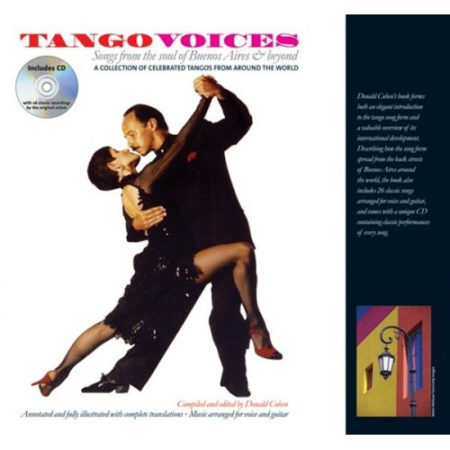 WISE PUBLICATIONS DONALD COHEN - TANGO VOICES SONGS FROM THE SOUL OF BUENOS AIRES AND BEYOND - GUITAR