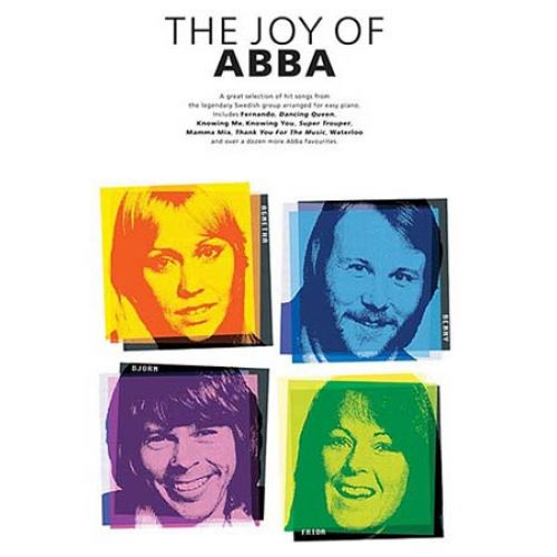 WISE PUBLICATIONS THE JOY OF ABBA - PVG