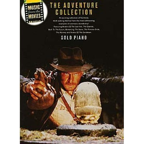 WISE PUBLICATIONS MUSIC FROM THE MOVIES - THE ADVENTURE COLLECTION - PIANO SOLO
