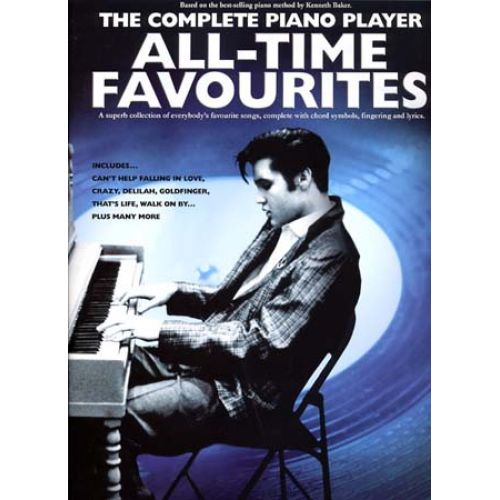 WISE PUBLICATIONS COMPLETE PIANO PLAYER ALL TIME FAVOURITES