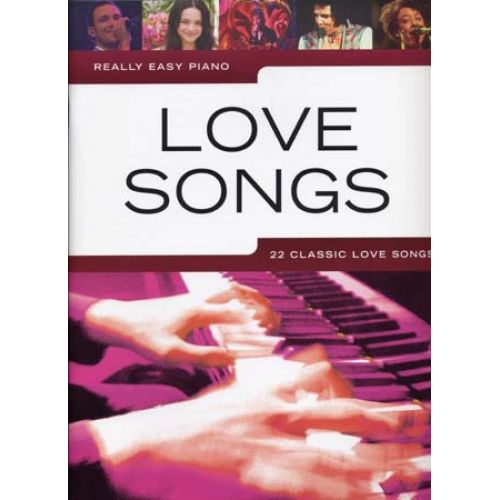 WISE PUBLICATIONS REALLY EASY PIANO - LOVE SONGS