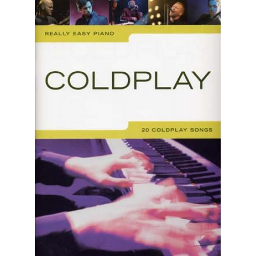 WISE PUBLICATIONS COLDPLAY - REALLY EASY PIANO