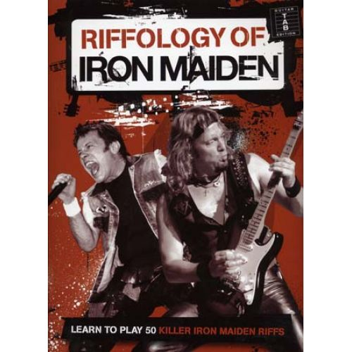 WISE PUBLICATIONS IRON MAIDEN - RIFFOLOGY - GUITARE TAB