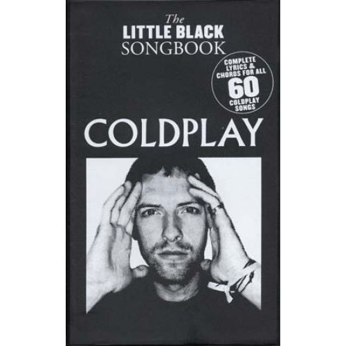 WISE PUBLICATIONS COLDPLAY - LITTLE BLACK SONGBOOK