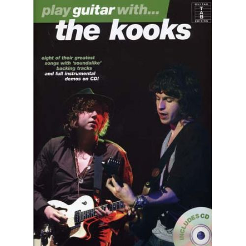 WISE PUBLICATIONS KOOKS - PLAY GUITAR WITH + CD - GUITAR TAB