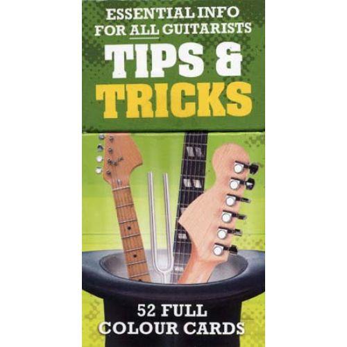 MUSIC SALES TIPS & TRICKS FOR GUITAR 52 CARTES