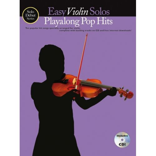 WISE PUBLICATIONS EASY VIOLIN SOLOS - PLAYALONG POP HITS - VIOLIN